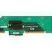 Supermicro RSC-R2UU-2E8 UIO Riser Card - 2 x PCI Express x8 Universal I/O 1U Chasis