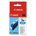 Canon BCI-3EC Original Ink Cartridge - Inkjet - 520 Pages - Cyan - 1 Each