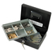 "Sentry Safe CB-10 Safebox - 1.13 L - Key Lock - Overall Size 3.3"" x 9.8"" x 7.4"" - Black"