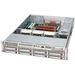 Supermicro SC825TQ-560UB Chassis - 2U - Rack-mountable - 10 Bays - 500W - Black