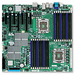 Supermicro X8DAH+ Server Motherboard - Intel Chipset - Socket B LGA-1366 - 144 GB DDR3 SDRAM Maximum RAM - DDR3-1333/PC3-10600, DDR3-1066/PC3-8500, DDR3-800/PC3-6400 - 18 x Memory Slots - Gigabit Ethernet - 6 x SATA Interfaces