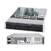 Supermicro SuperChassis SC825TQ-R720UB Rackmount Enclosure - 2U - Rack-mountable - 12 Bays - 720W - Black