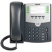 Cisco SPA 501G IP Phone - 1 x RJ-9 Handset, 2 x RJ-45 10/100Base-TX PoE, 1 x Sub-mini phone Headset - 8Phoneline(s)