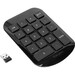 Targus Wireless Numeric Keypad - USB - Black, Gray