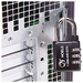 Noble Universal PADCO Combination Padlock - 1000 Digit - Stainless Steel