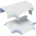 Panduit Pan-Way T-70 Tee Fitting - Off White - 1 Pack