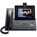 Cisco Slimline Handset for IP Phone - USB - Charcoal