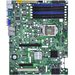 Supermicro Server Board Server Motherboard - Intel Chipset - Socket B LGA-1366 - Bulk Pack - ATX - 1 x Processor Support - 32 GB DDR3 SDRAM Maximum RAM - 1.33 GHz Memory Speed Supported - 6 x Memory Slots - Serial ATA/300 RAID Supported Controller - On-bo