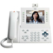 Cisco Unified 9971 IP Phone - Desktop, Wall Mountable - Arctic White - 1 x Total Line - VoIP - IEEE 802.11a/b/g - Caller ID - Speakerphone - 2 x Network (RJ-45) - USB - PoE Ports - Color