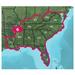 Garmin 010-11319-00 TOPO U.S. 24K Southeast Digital Map - North America - United States - Driving - DVD-ROM