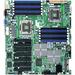 Supermicro X8DTH-6 Server Motherboard - Intel Chipset - Socket B LGA-1366 - 96 GB DDR3 SDRAM Maximum RAM - DDR3-1333/PC3-10600, DDR3-1066/PC3-8500, DDR3-800/PC3-6400 - 12 x Memory Slots - Gigabit Ethernet - 6 x SATA Interfaces