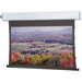 """Da-Lite Tensioned Advantage Electrol 34553 130"""" Electric Projection Screen - Front Projection - 16:10 - High Contrast Cinema Perf - 69"""" x 110"""" - Ceiling Mount"""