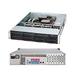"Supermicro SuperChassis SC825TQ-563LPB Rackmount Enclosure - Rack-mountable - Black - 2U - 8 x Bay - 3 x Fan(s) Installed - 560 W - EATX, ATX Motherboard Supported - 50 lb - 8 x External 3.5"" Bay - 7x Slot(s) - 2 x USB(s)"