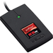 "RF IDeas pcProx Smart Card Reader - Contactless - Cable3"" Operating Range - Serial Black"
