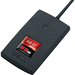 """RF IDeas pcProx Smart Card Reader - Contactless - Cable3"""" Operating Range - Serial Black"""