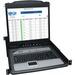 """Tripp Lite 8-Port Rack Console KVM Switch w/19"""" LCD PS2/USB Cables 1U TAA GSA - 8 Computer(s) - 19"""" LCD - SXGA - 1280 x 1024 - 1 x Network (RJ-45) - 2 x USB - TouchPad - TAA Compliant"""