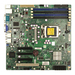 Supermicro X8SIL-V Server Motherboard - Intel Chipset - Socket H LGA-1156 - Retail Pack - Micro ATX - 1 x Processor Support - 32 GB DDR3 SDRAM Maximum RAM - 1.33 GHz Memory Speed Supported - 4 x Memory Slots - Serial ATA/300 RAID Supported Controller - 0,