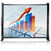 "Epson ES1000 Manual Projection Screen - 50"" - 4:3, 16:9 - 34.5"" x 45.4"" - Matte White"