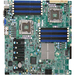 Supermicro X8DTE Server Motherboard - Intel Chipset - Socket B LGA-1366 - 192 GB DDR3 SDRAM Maximum RAM - DDR3-1333/PC3-10600, DDR3-1066/PC3-8500, DDR3-800/PC3-6400 - 12 x Memory Slots - Gigabit Ethernet - 2 x RJ-45 - 6 x SATA Interfaces