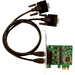 SIIG 2-port PCI Express Serial Adapter - 1 Pack - Dual-profile Plug-in Card - PCI Express - PC - 2 x Number of Serial Ports External