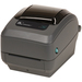 "Zebra GX430t Desktop Thermal Transfer Printer - Monochrome - Label Print - Ethernet - USB - Serial - LCD Yes - 4.09"" Print Width - 6 in/s Mono - 300 dpi - 4.25"" Label Width - 39"" Label Length"