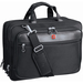 """Swissgear SWA0915 Carrying Case (Briefcase) for 17"""" to 17.3"""" Notebook - Black - Scratch Proof - Polytex - Shoulder Strap, Handle - 12.50"""" (317.50 mm) Height x 16.50"""" (419.10 mm) Width x 5.50"""" (139.70 mm) Depth - 1 Pack"""