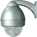 Panasonic Outdoor Silver Wall Mount Dome Housing - 1 Fan(s) - 1 Heater(s)