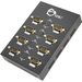 SIIG 8-Port USB to RS-232 Serial Adapter Hub - 1 Pack - External - USB - PC - 1 x Number of USB Ports