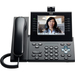Cisco Unified 9971 IP Phone - Wireless - Desktop - Charcoal - 1 x Total Line - VoIP - IEEE 802.11a/b/g - Caller ID - Speakerphone - 2 x Network (RJ-45) - USB - PoE Ports - Color