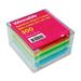 Winnable Rainbow Note Sheets Memo Cube
