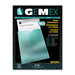 "Gemex Vinyl Envelopes - Letter - 8 1/2"" x 11"" Sheet Size - Vinyl - Clear - 10 / Pack"