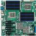 Supermicro X8DAH+-F-LR Server Motherboard - Intel Chipset - Socket B LGA-1366 - 384 GB DDR3 SDRAM Maximum RAM - DDR3-1333/PC3-10600, DDR3-1066/PC3-8500, DDR3-800/PC3-6400 - 18 x Memory Slots - Gigabit Ethernet - 3 x RJ-45 - 6 x SATA Interfaces