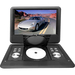 "PyleHome PDH14 Portable DVD Player - 14"" Display - 1366 x 768 - Black - DVD-RW, CD-RW - JPEG - DVD Video, MP4, Video CD, DivX, AVI, MPEG - CD-DA, MP3 - 1 x Headphone Port(s) - USB - 2 Hour"
