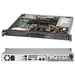 Supermicro SuperServer 5017R-MF Barebone System - 1U Rack-mountable - Intel C602 Chipset - Socket R LGA-2011 - 1 x Processor Support - Black - 256 GB DDR3 SDRAM DDR3-1600/PC3-12800 Maximum RAM Support - Serial ATA/600 RAID Supported Controller - Matrox G2
