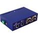 B&B Vlinx, (2) RJ45 Ethernet, (4) DB9 232/422/485 - 2 x Network (RJ-45) - 4 x Serial Port - Fast Ethernet - Rail-mountable, Panel-mountable