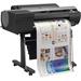 """Canon imagePROGRAF iPF6400 Inkjet Large Format Printer - 24"""" Print Width - Color - 12 Color(s) - 2400 x 1200 dpi - 384 MB - USB - Ethernet - Gigabit Ethernet - Floor Standing Supported"""