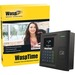 Wasp WaspTime v7 Professional w/HID Time Clock - Proximity - 100 Employees - Week, Bi-weekly, Semi-monthly, Month Record Time