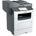 Lexmark MX611 MX611DHE Laser Multifunction Printer - Monochrome - Copier/Fax/Printer/Scanner - 50 ppm Mono Print - 1200 x 1200 dpi Print - Automatic Duplex Print - 1200 dpi Optical Scan - 650 sheets Input - Gigabit Ethernet