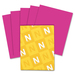 "Astrobrights Inkjet, Laser Printable Multipurpose Card - Letter - 8 1/2"" x 11"" - 65 lb Basis Weight - Smooth - 250 / Pack - Fireball Fuchsia"