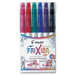 FriXion Colour Erasable Marker Pen Set - 2.5 mm Marker Point Size - Assorted - 6 / Set