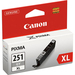 Canon CLI-251GY XL Original Ink Cartridge - Gray - Inkjet - High Yield - 665 Pages