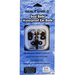 Seal Shield Seal Buds Headphones w/o Microphone - Stereo - Blue, Silver - Mini-phone - Wired - 32 Ohm - Earbud - Binaural - In-ear - 3.94 ft Cable
