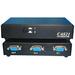 4XEM 2 Port VGA Switch - 1600 x 1280 - SVGA - 2 x 21 x VGA Out
