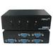 4XEM 4Port VGA Switch - 1600 x 1280 - SVGA - 4 x 41 x VGA Out
