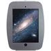 MacLocks Space Mini - iPad Mini Enclosure Wall Mount - Silver - Silver