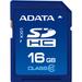 Adata Premier 16 GB Class 10/UHS-I SDHC - 50 MB/s Read - 33 MB/s Write