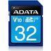 Adata Premier 32 GB SDHC - Class 10/UHS-I - 50 MB/s Read - 33 MB/s Write - 1 Card - Retail