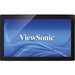 """Viewsonic TD2740 27"""" LCD Touchscreen Monitor - 16:9 - 12 ms - Projected Capacitive - Multi-touch Screen - 1920 x 1080 - Full HD - Adjustable Display Angle - 3,000:1 - 260 cd/m² - LED Backlight - Speakers - HDMI - USB - VGA - Glossy Black - WEEE, RoHS"""