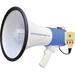 PyleHome PMP59IR Megaphone - 50 W Amplifier - Built-in Amplifier - 1 Audio Line In - Battery Rechargeable - 8 Hour