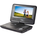 "Naxa NPD-703 Portable DVD Player - 7"" Display - Black - DVD-R, CD-R - JPG - DVD Video - 16:9 - CD-DA - 1 x Headphone Port(s) - USB - Lithium (Li)"